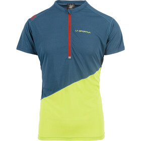 La Sportiva Limitless - Camiseta Running Hombre - verde/azul